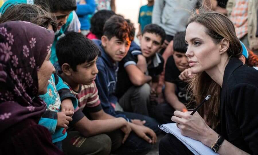 Интересные факты о Анджелине Джоли